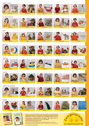 Babyzeichen-Plakat: Wichtigste Starterzeichen - 1