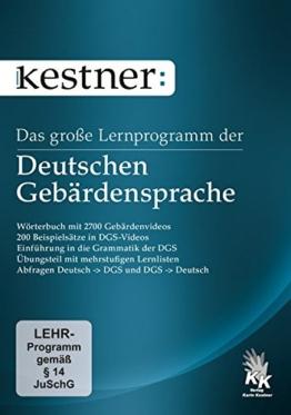 Das große Lernprogramm der Deutschen Gebärdensprache (PC+Mac) - 1