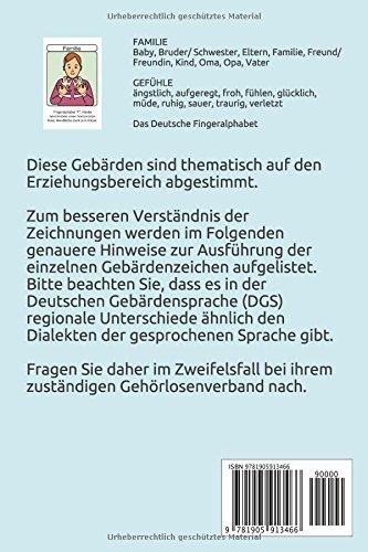 Deutsche Gebärdensprache FAMILIE & GEFÜHLE (Let's Sign DGS, Band 1) - 2