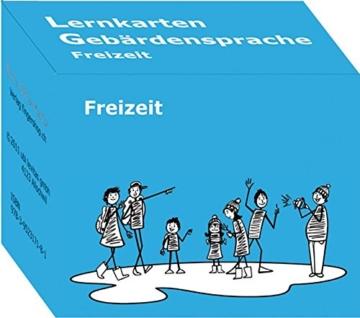 DSGS Deutschschweizerische Gebärdensprache: Lernkarten zum Thema Freizeit -
