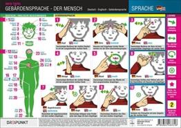Gebärdensprache - Der Mensch: Bezeichnungen von Körperteilen mit Hilfe der Deutschen Gebärdensprache (mit deutscher und englischer Übersetzung) - 1