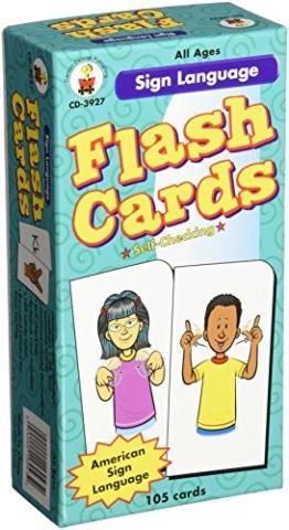 Gebärdensprache Flash-Karten - 1