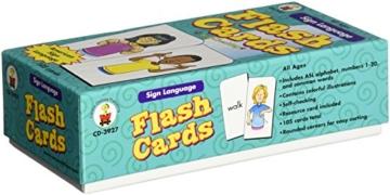 Gebärdensprache Flash-Karten - 2