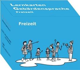 Lernkarten Gebärdensprache: Freizeit: 200 Lernkarten Deutschschweizerische Gebärdensprache Thema Freizeit - 1