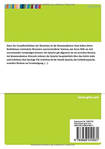 Struktur und Grammatik der Gebärdensprache - 2