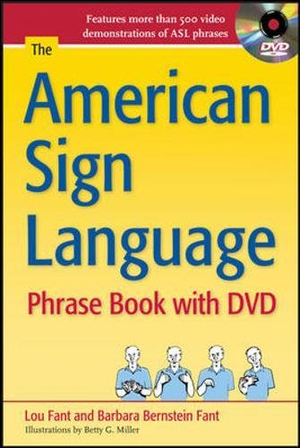 The American Sign Language Phrase Book with DVD - 1