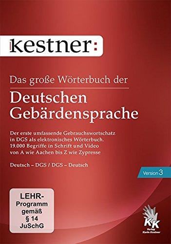 Das große Wörterbuch der Deutschen Gebärdensprache 3 (PC+MAC) -