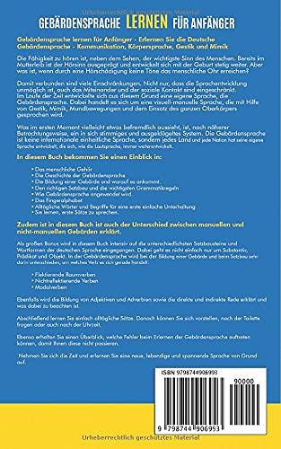Gebärdensprache lernen für Anfänger: Erlernen Sie die Deutsche Gebärdensprache - Kommunikation, Körpersprache, Gestik und Mimik. (DGS, Gebärdensprache Buch) - 2